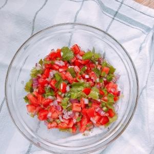 Fresh salsa 1