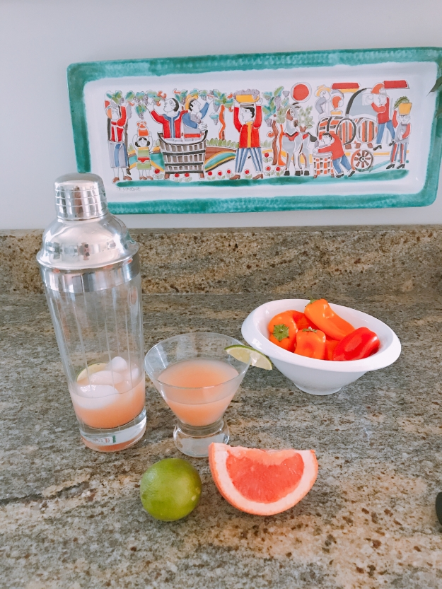 grapefruit margarita's