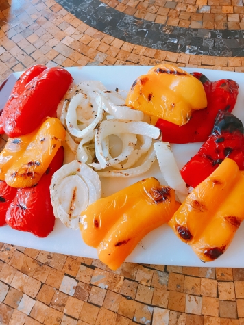 grilled peppers & Fennel