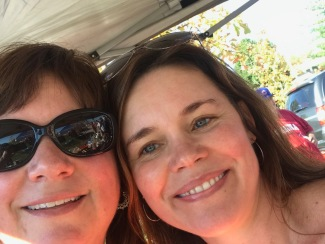 Selfie 2017 Amy & I